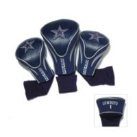 Dallas Cowboys 3-Pack Contour Golf Club Headcovers