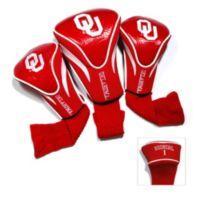 University of Oklahoma 3-Pack Contour Headcovers