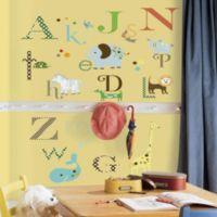 RoomMates Animal Alphabet Peel & Stick Wall Decals