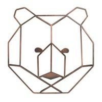 Nojo® 10.4-Inch x 10.6-Inch Wire Bear Wall Art