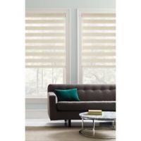 Real Simple® Cordless 23-Inch x 72-Inch Layered Shade in Natural
