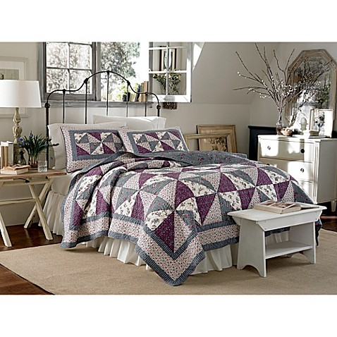 Laura Ashley® Selena Twin Quilt