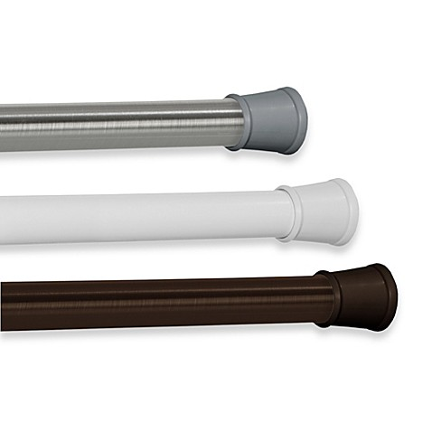 The Gripper™ Easy Install 86-Inch Shower Rod - Bed Bath & Beyond