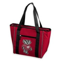 University of Wisconsin Quatrefoil 30-Can Cooler Tote