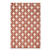 Loloi Rugs Charlotte 2-Foot 3-Inch x 3-Foot 9-Inch Rug in Ivory/Rust