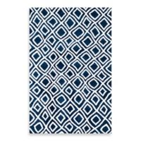 Loloi Rugs Charlotte 2-Foot 3-Inch x 3-Foot 9-Inch Rug in Navy