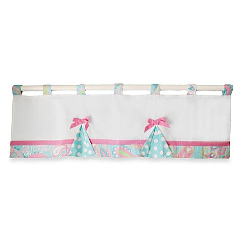 Pixie Baby in Aqua Baby Crib Bedding