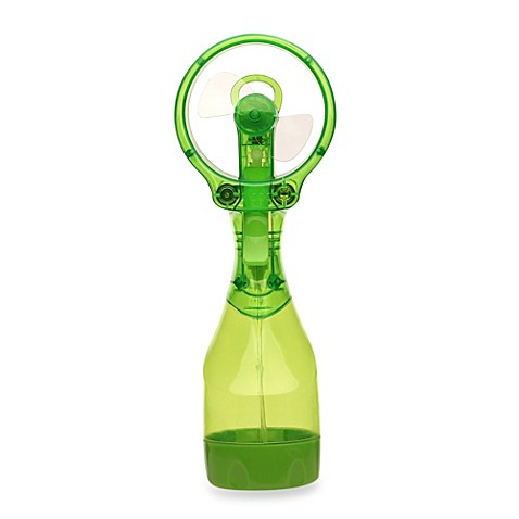 O2COOL® Deluxe Water Misting Fan in Green