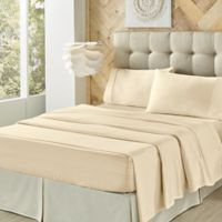 J. Queen New York™ Royal Fit 300-Thread-Count Full Sheet Set in Ivory