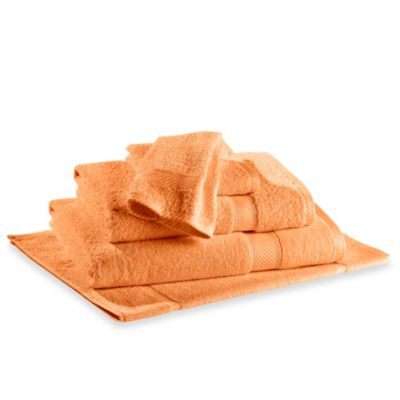 Buy Cotton Orange Bath Towels From Bed Bath Amp Beyond
