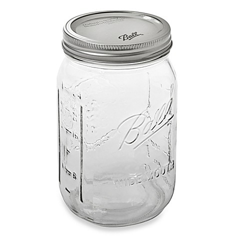 Ball® Wide Mouth 12-Pack 1 qt. Glass Canning Jars