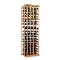 Wine Enthusiast N'FINITY 5-Column Wine Rack Kit with Display in Natural