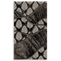 Linon Home Forest 8-Foot x 10-Foot 4-Inch Rug in Black