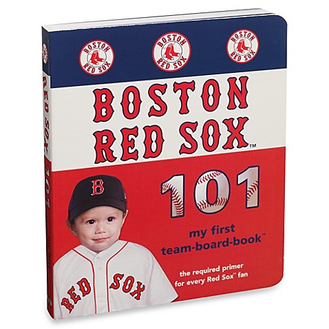 Boston Red Sox 101 in My First Team Board Books™