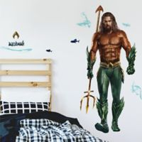 RoomMates® 16-Piece Giant Aquaman Peel & Stick Wall Decal Set