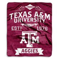 Texas A&M University Raschel Throw