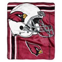 NFL Arizona Cardinals Royal Plush Raschel Throw