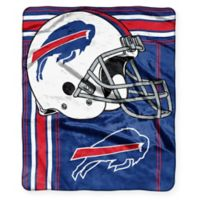 NFL Buffalo Bills Royal Plush Raschel Throw