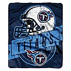 NFL Tennessee Titans Royal Plush Raschel Throw