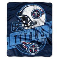 NFL Tennessee Titans Royal Plush Raschel Throw