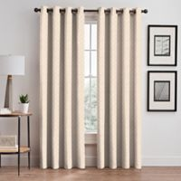 Regency 84-Inch Grommet Window Curtain Panel in Cream