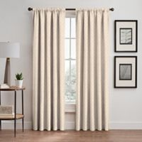 Regency 84-Inch Rod Pocket/Back Tab Room Darkening Window Curtain Panel in Cream