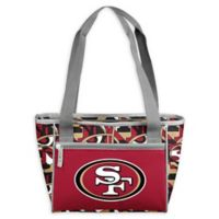NFL San Francisco 49ers FIT 16-Can Cooler Tote