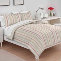 Martex Sarah Stripe King Comforter Set