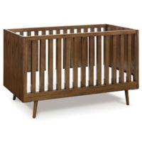 Ubabub Nifty Timber 3-in-1 Convertible Crib in Walnut