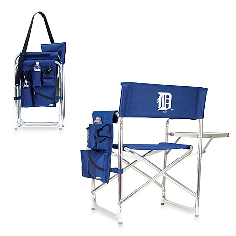 Picnic Time® MLB Detroit Tigers Portable Sports Chair