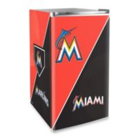 Miami Marlins Licensed Counter Height Refrigerator