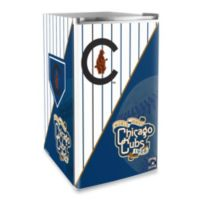 Chicago Cubs Licensed Counter Height Refrigerator
