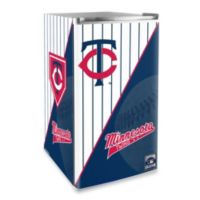 Minnesota Twins Licensed Counter Height Refrigerator
