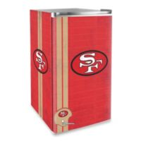 NFL San Francisco 49ers Legacy Counter Height Refrigerator