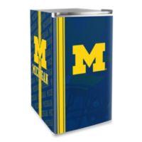 University of Michigan Licensed Counter Height Refrigerator