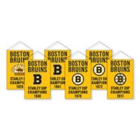 NHL Boston Bruins Rafter Banner Replica Pack