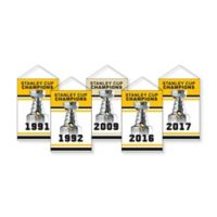 NHL Pittsburgh Penguins Rafter Banner Replica Pack