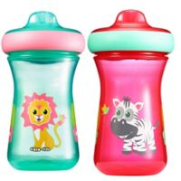 The First Years™ Safari 2-Pack 9 oz.Hard Spout Sippy Cups