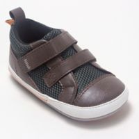 ro+me By Robeez® Size 0-6M Dinosaur Casual Shoe in Brown