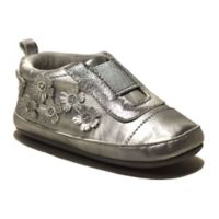 ro+me by Robeez® Size 0-6M Flowers Slip-On Shoe