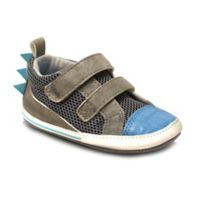ro+me by Robeez® Size 0-6M Dinosaur Casual Shoe in Blue