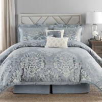Rose Tree Marianna Reversible King Comforter Set in Grey/Blue