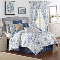 Rose Tree Ardenelle Reversible King Comforter Set in Blue