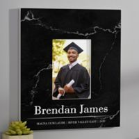 Graduation Portrait Personalized Wall Frame- Vertical