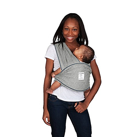 Baby K Tan 174 Baby Carrier In Heather Grey Buybuy Baby