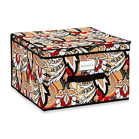 The Macbeth Collection Jumbo Storage Box in Serena Brit