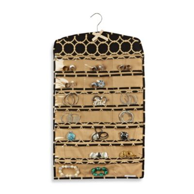 The Macbeth Collection Jewelry Organizer in Hula Black Bed Bath