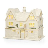 Lenox® Village Lighted Pub Figurine in Ivory