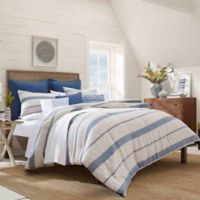 Nautica® Norcross Twin Duvet Cover Set in Navy