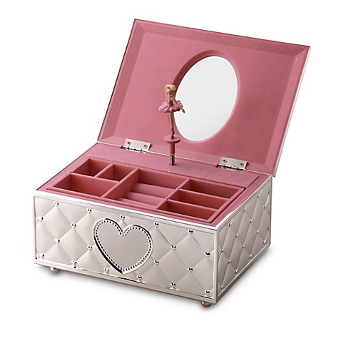 Lenox 174 Childhood Memories Musical Ballerina Jewelry Box